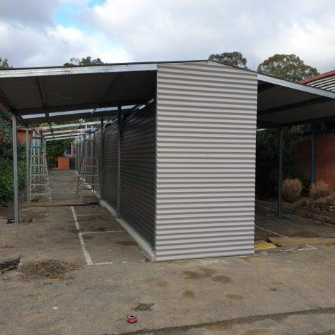 Outdoor Locker Bay for schools